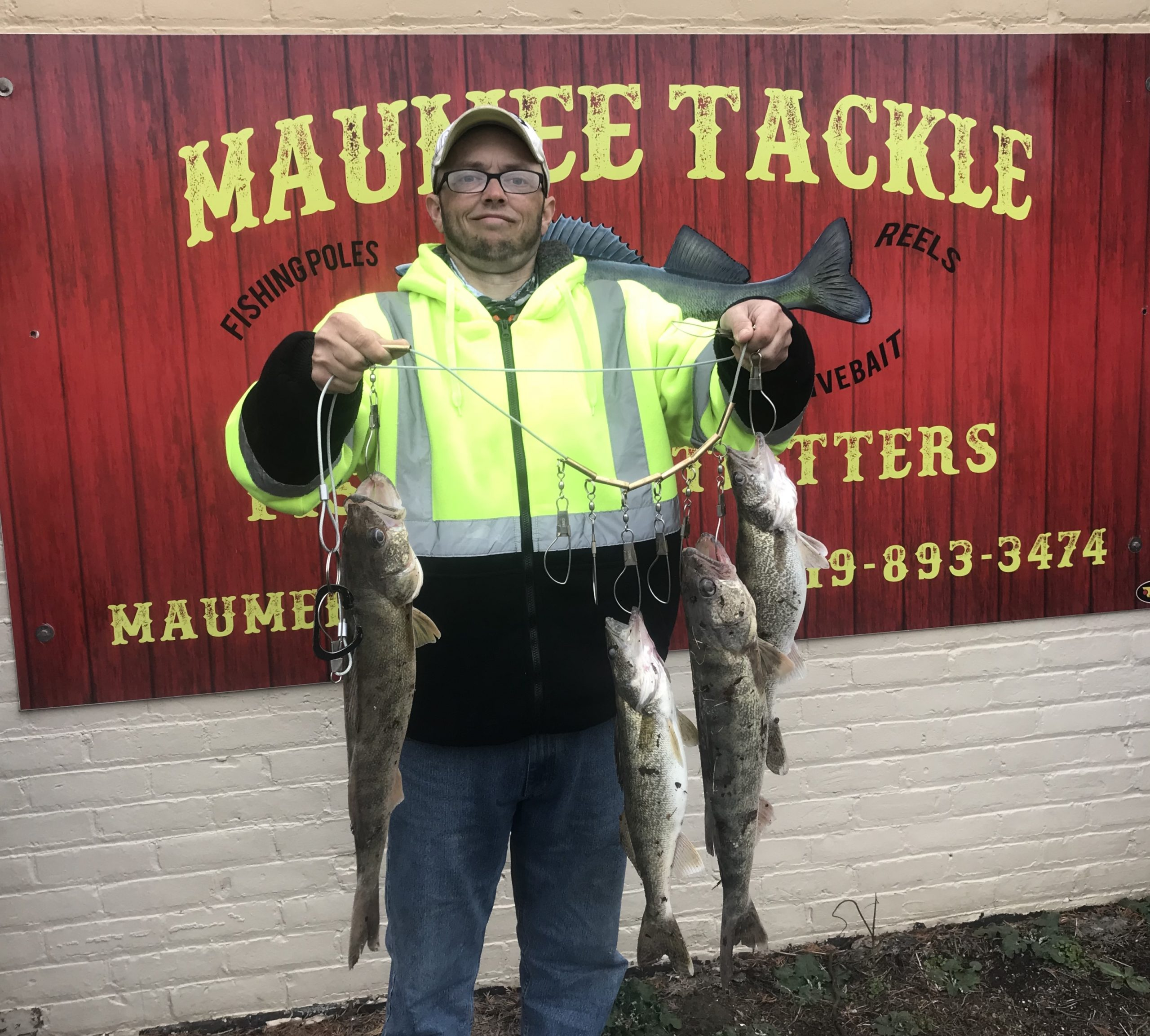 Maumee River Report- 19 April 2018- starting to slowly warm up.