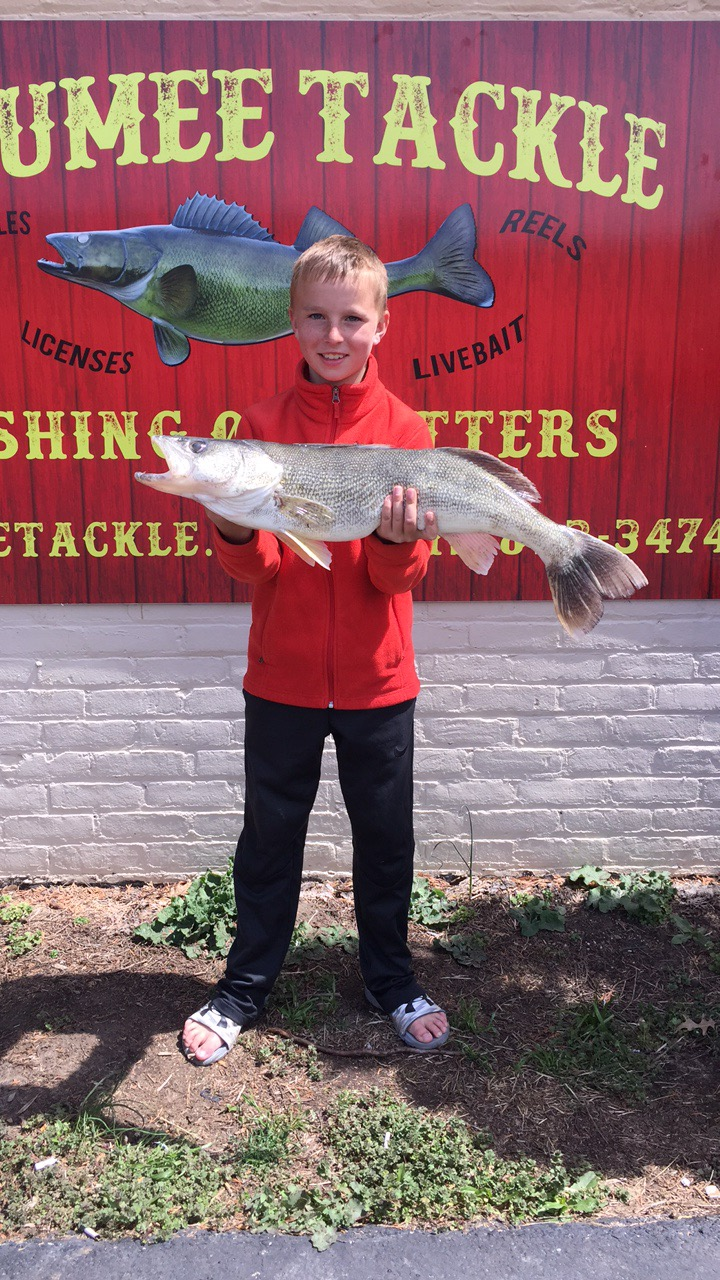Maumee River Report- April 24, 2018- The bite was on yesterday