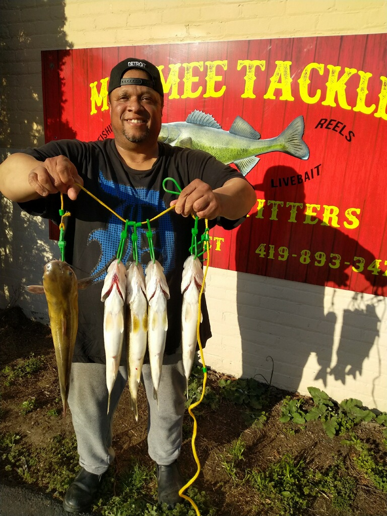 Maumee River Report-April 27, 2018- The Bite is on!