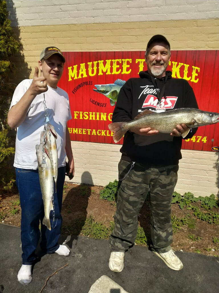Maumee River Report-28 April 18