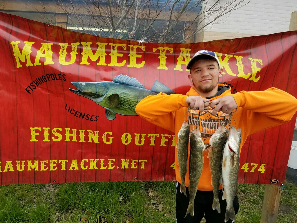 Maumee River Report- 22 April 2018