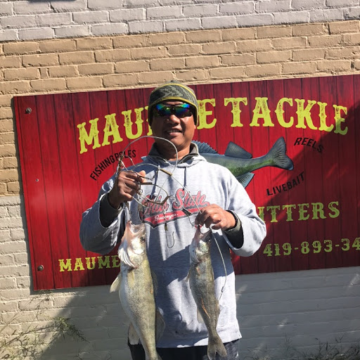 Maumee River and Lake Erie Report. Emerald Shiners in Stock- Oct 15, 2018