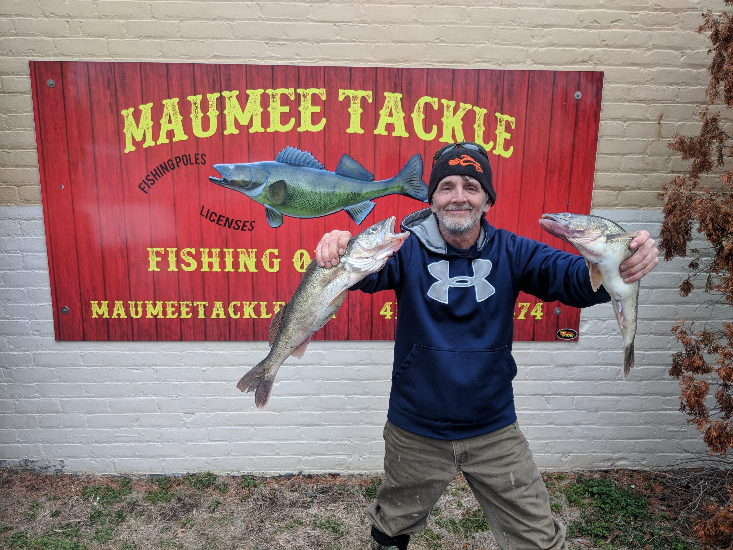 MAUMEE RIVER REPORT- 30 MARCH 2019- LAST 3 DAYS HAVE BEEN GREAT FISHING!