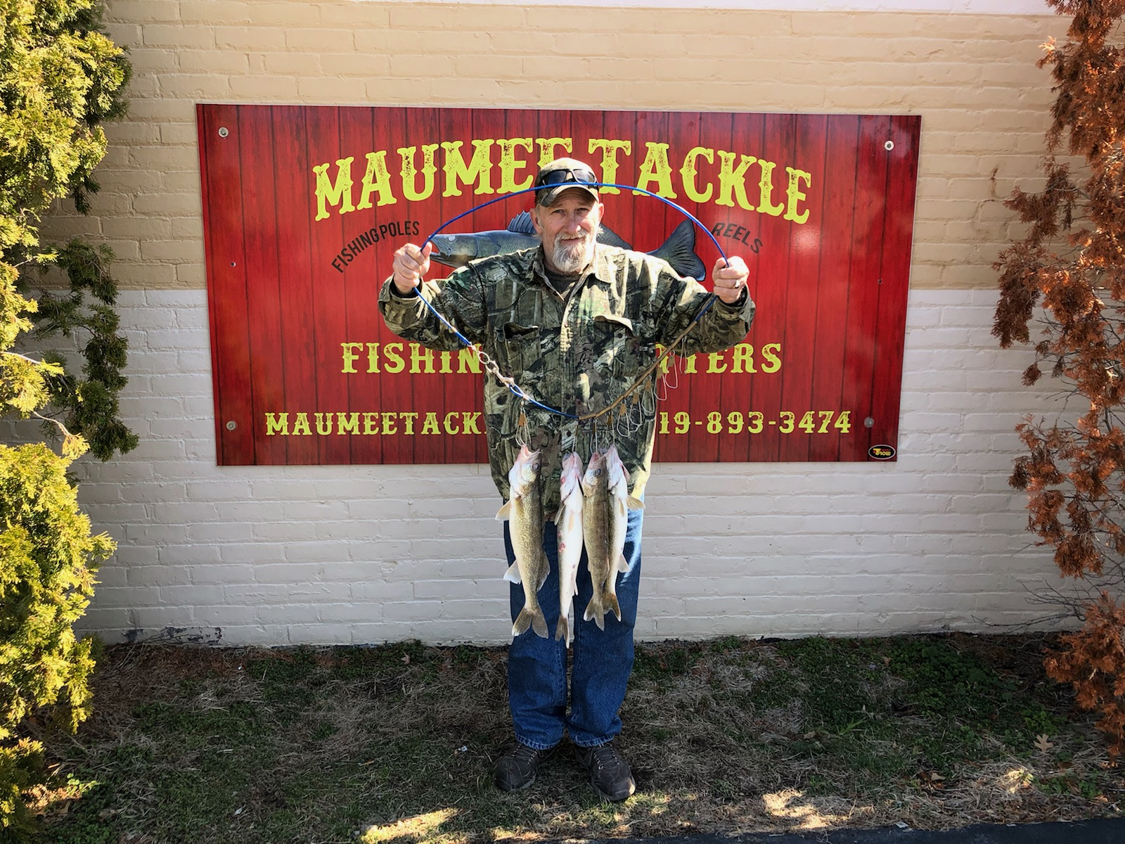 Maumee river Report- 4 April 2019