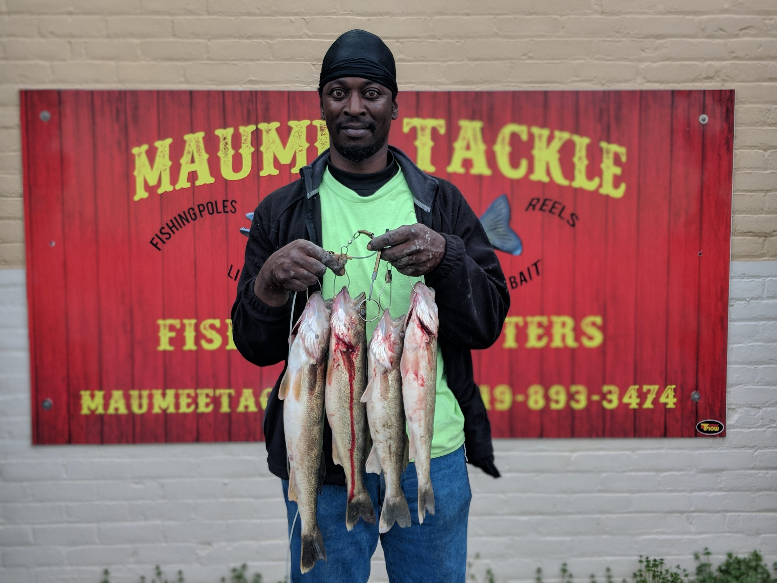 Maumee River Report- 27 April 2019