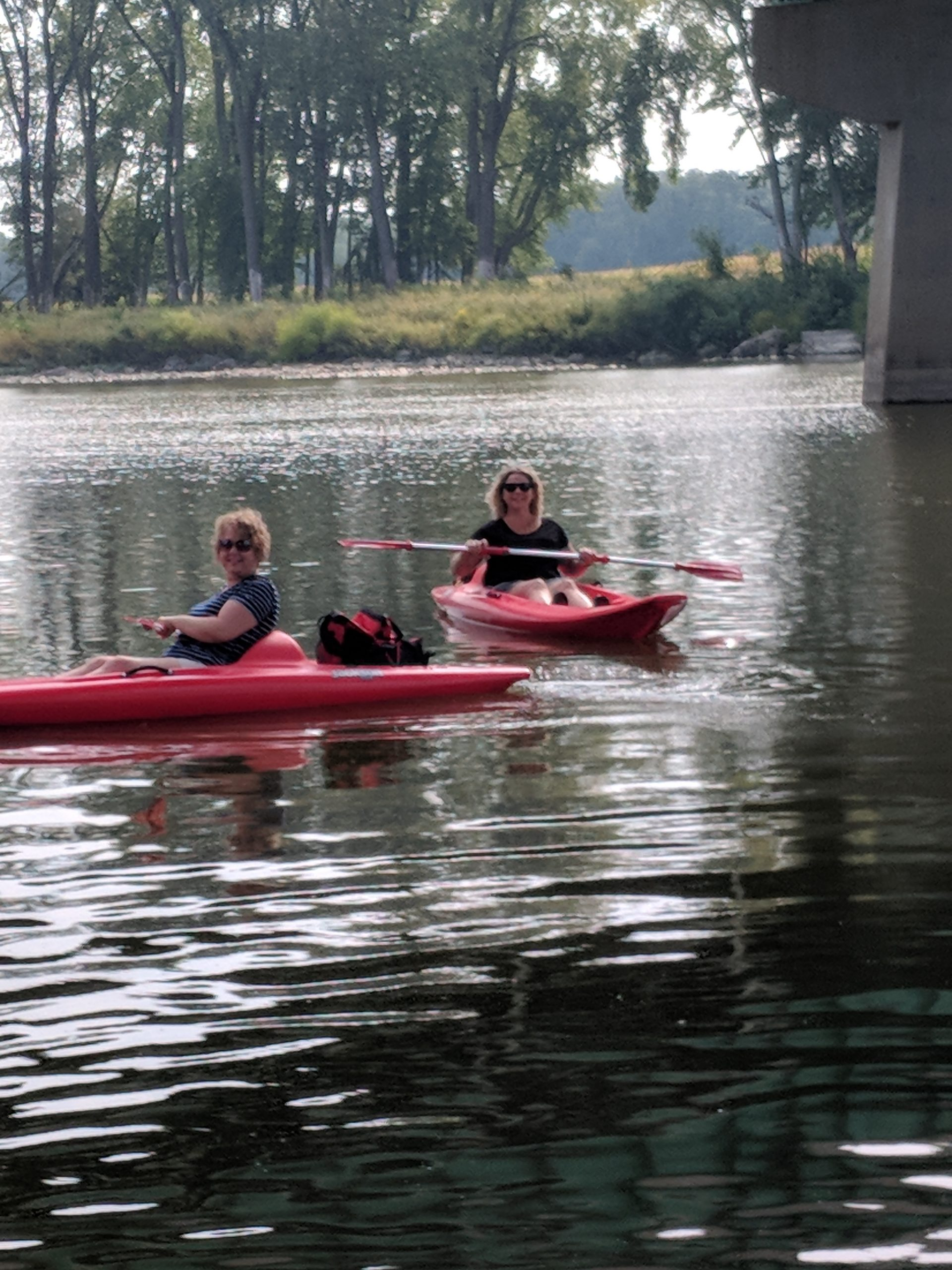 Maumee River Report – 23 September,2019- We are still running Kayak trips through the Fall