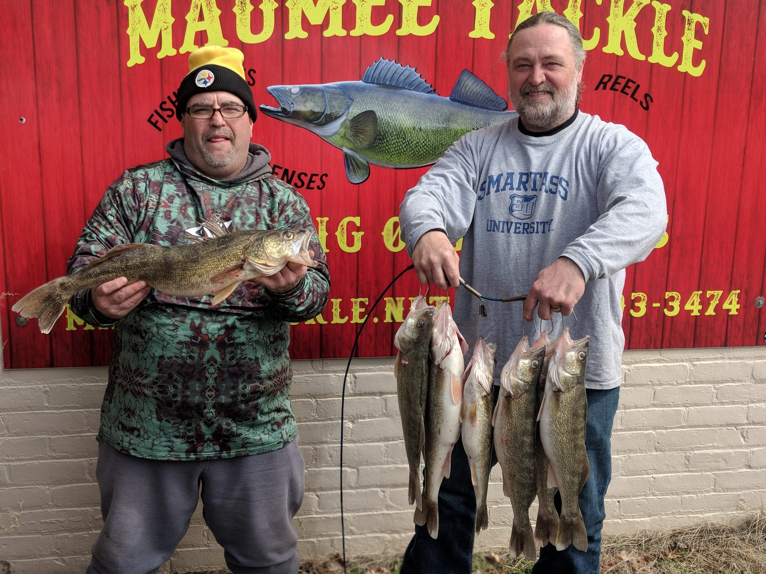 Maumee river report-17 march 2020- Enjoy your day cause life is good