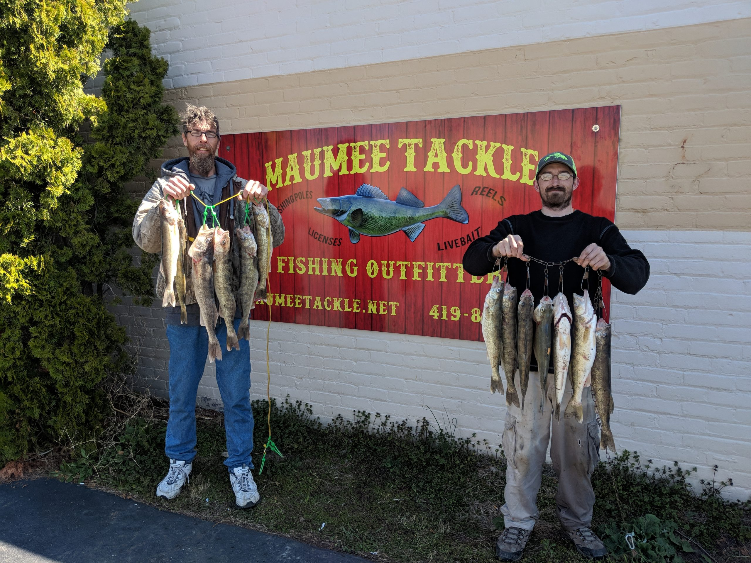 Maumee river report- 21 april 20