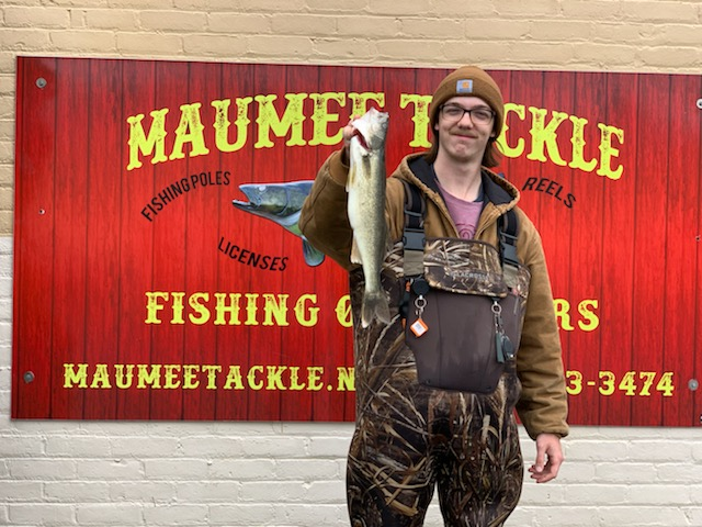 Maumee River report 15 April 2020