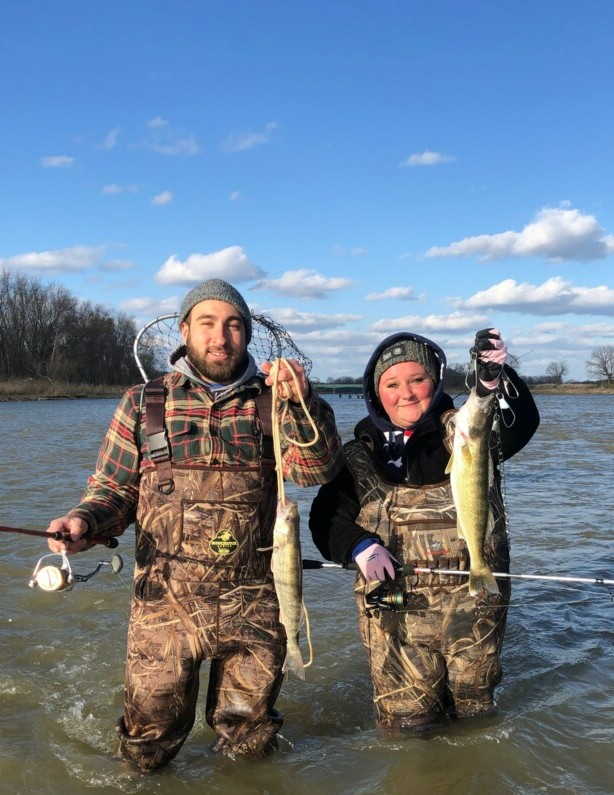 Maumee River report.22 April 20