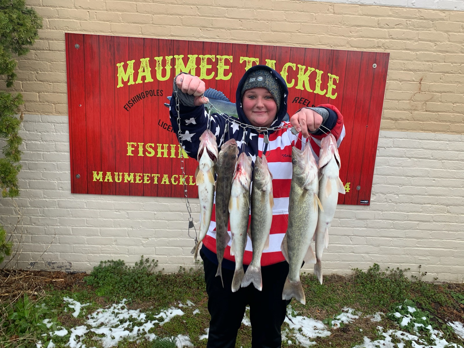 Maumee river report- 18 april 2020