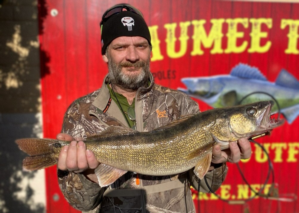 Maumee river report..22 march 21