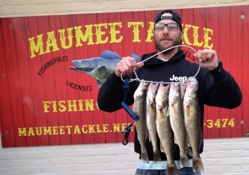 Maumee River report- 20 April 2021