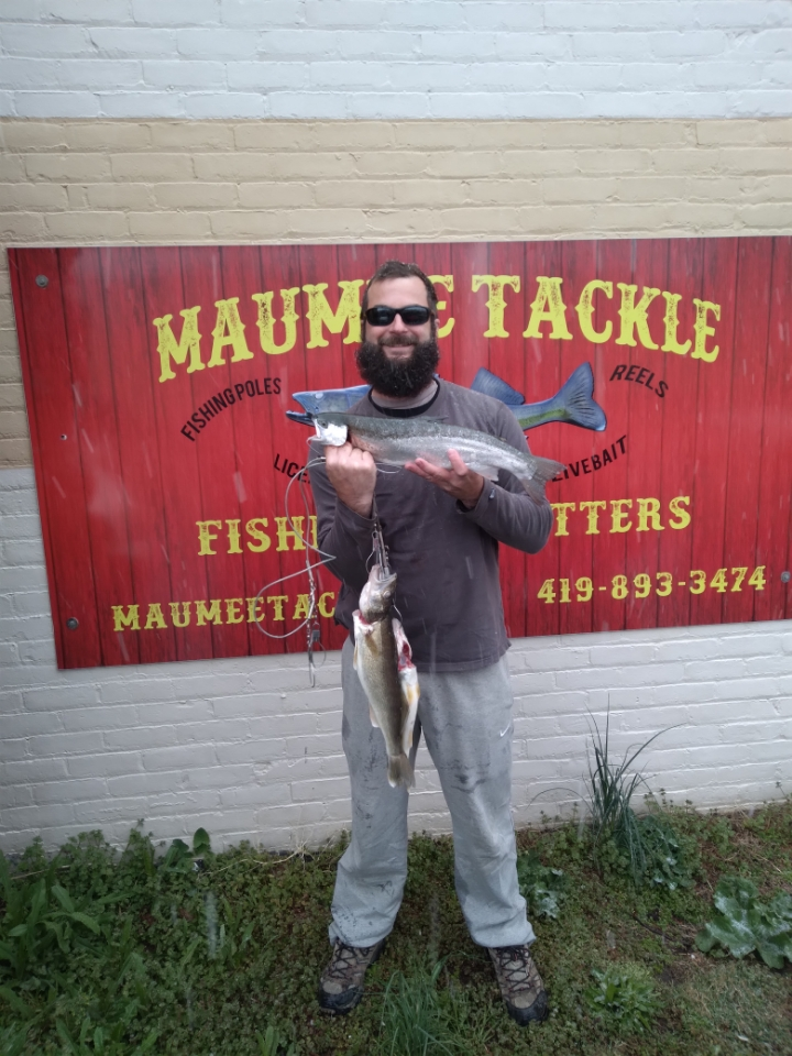 Maumee River report..21 april 21-