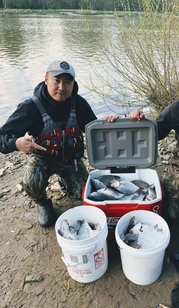 Maumee River report- Time to fish. -8 May 2021
