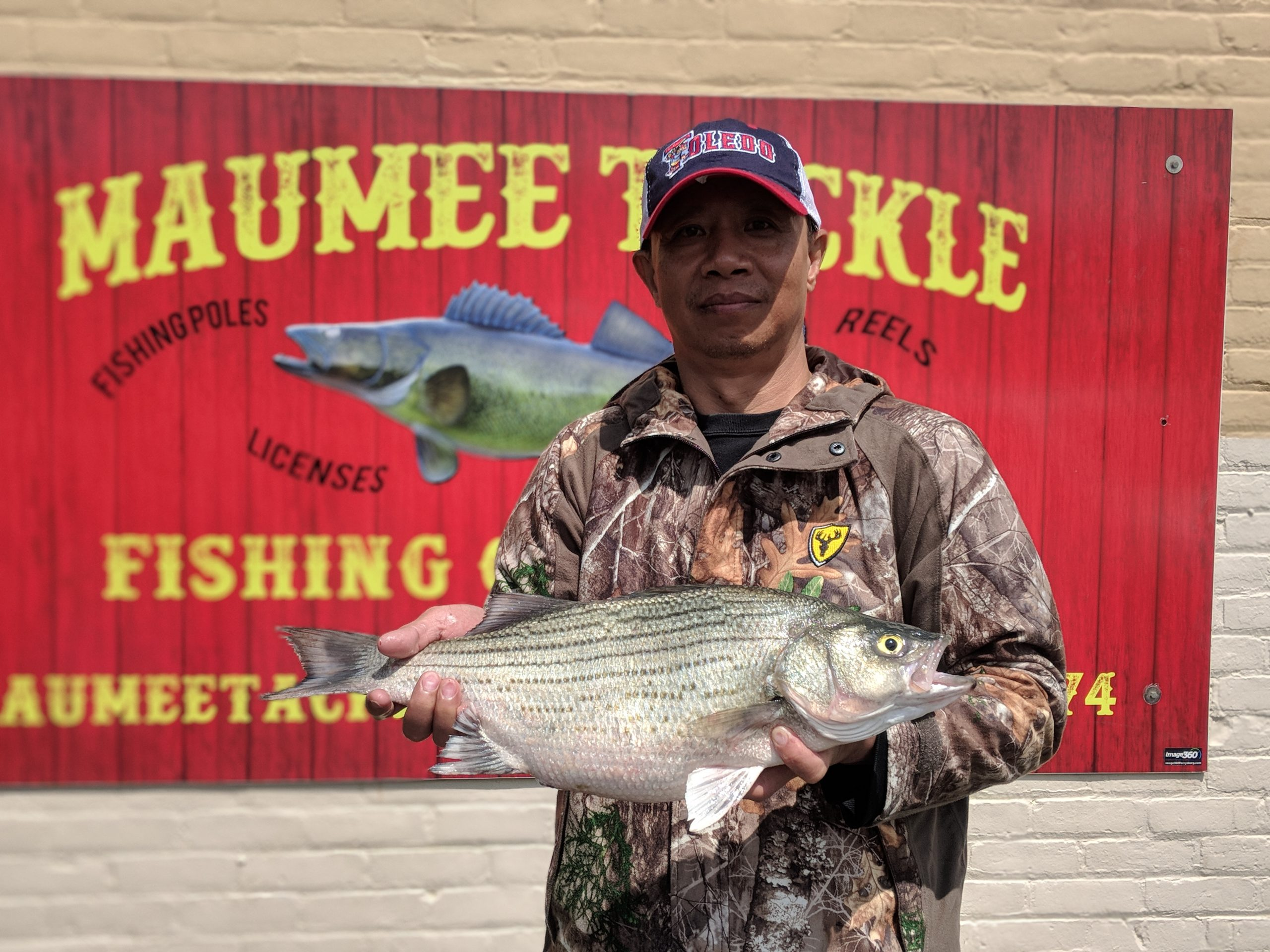 Maumee river report- 17 may 20
