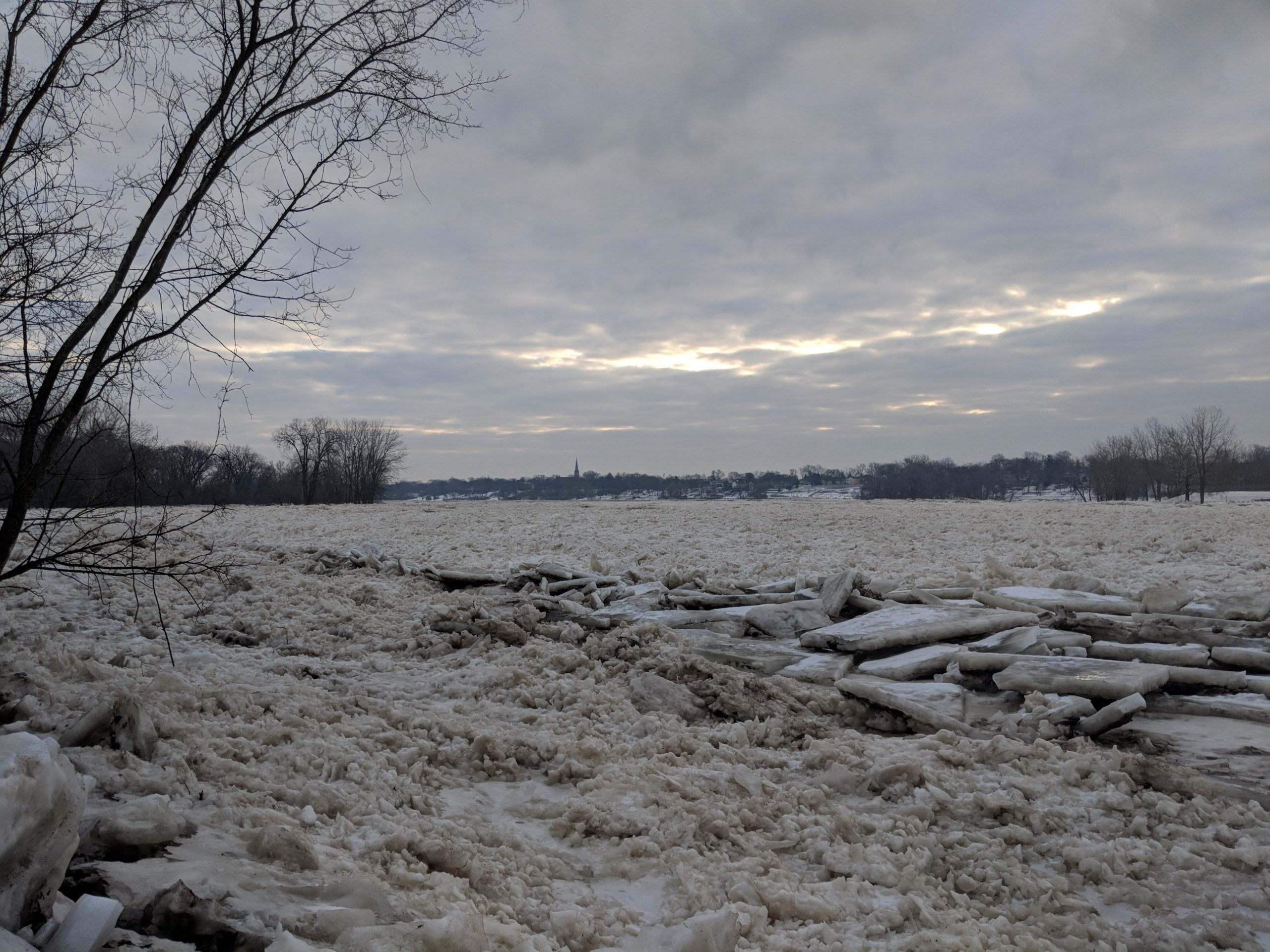 Maumee River and Area Ice Fishing- Febuary 3 ,2019