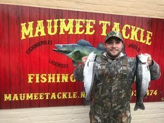 Maumee River Report- Feb 25 . 2018