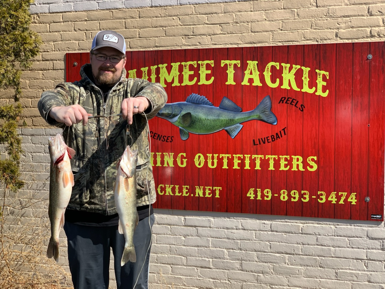 Maumee River Report 9 march 2020