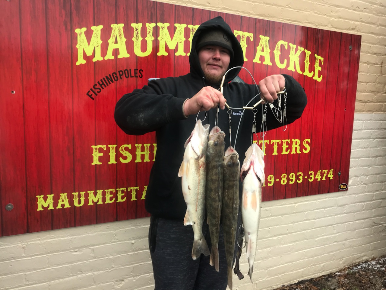 Maumee River Report- March 9, 2018- FIRST LIMIT YESTERDAY