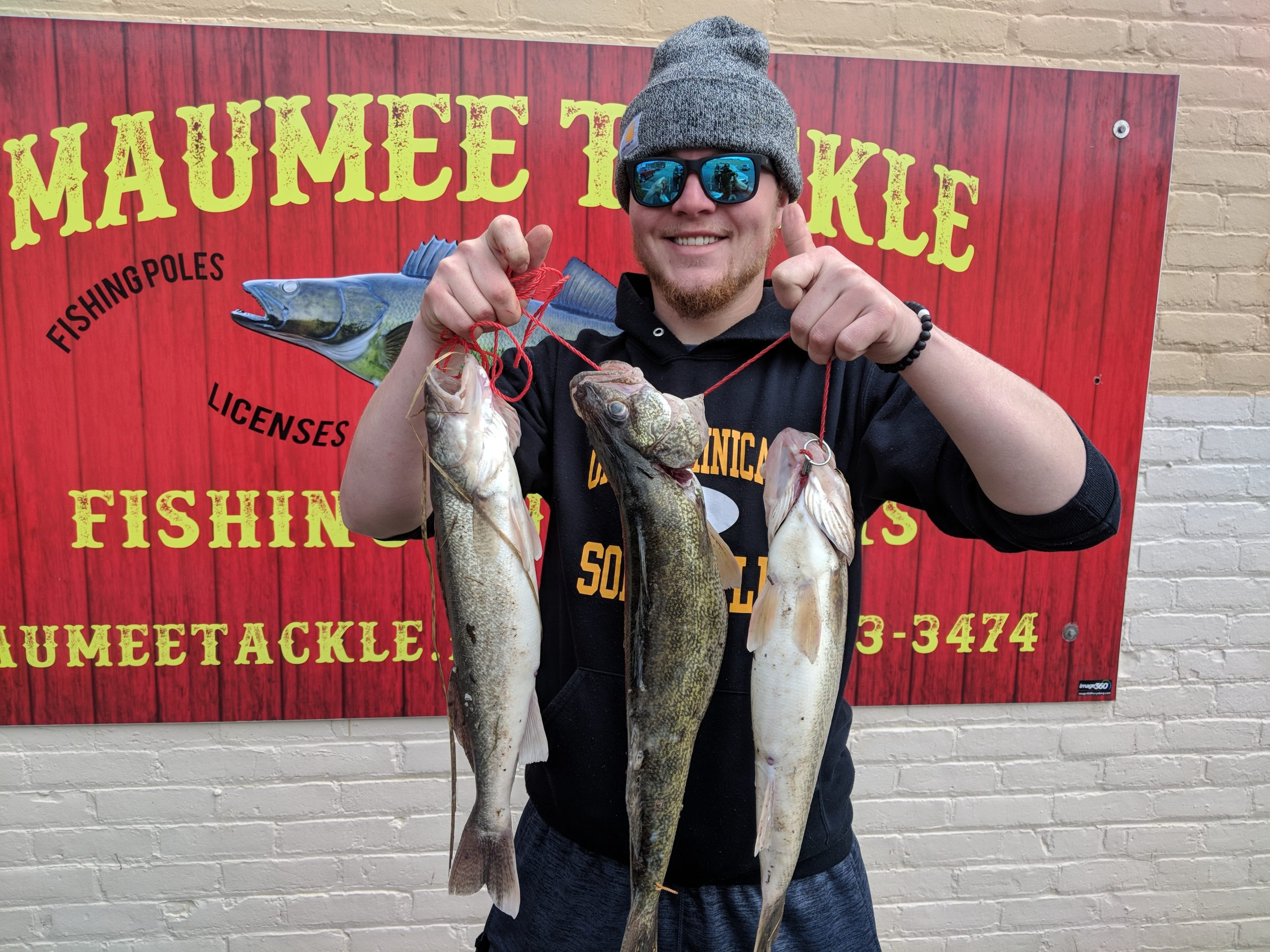 Maumee river report- 30 March , 2020