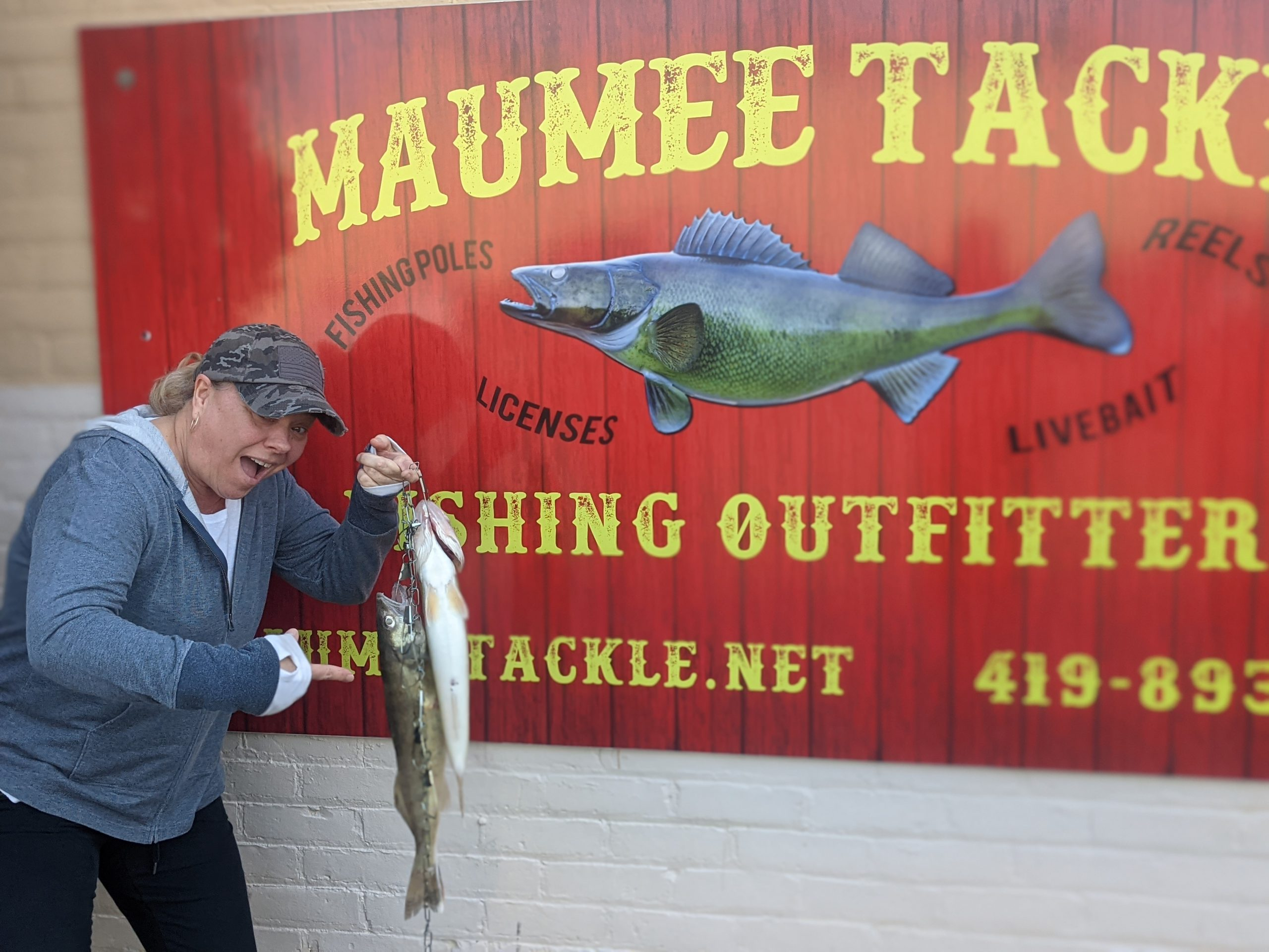 Maumee river Report- april 8 , 2021