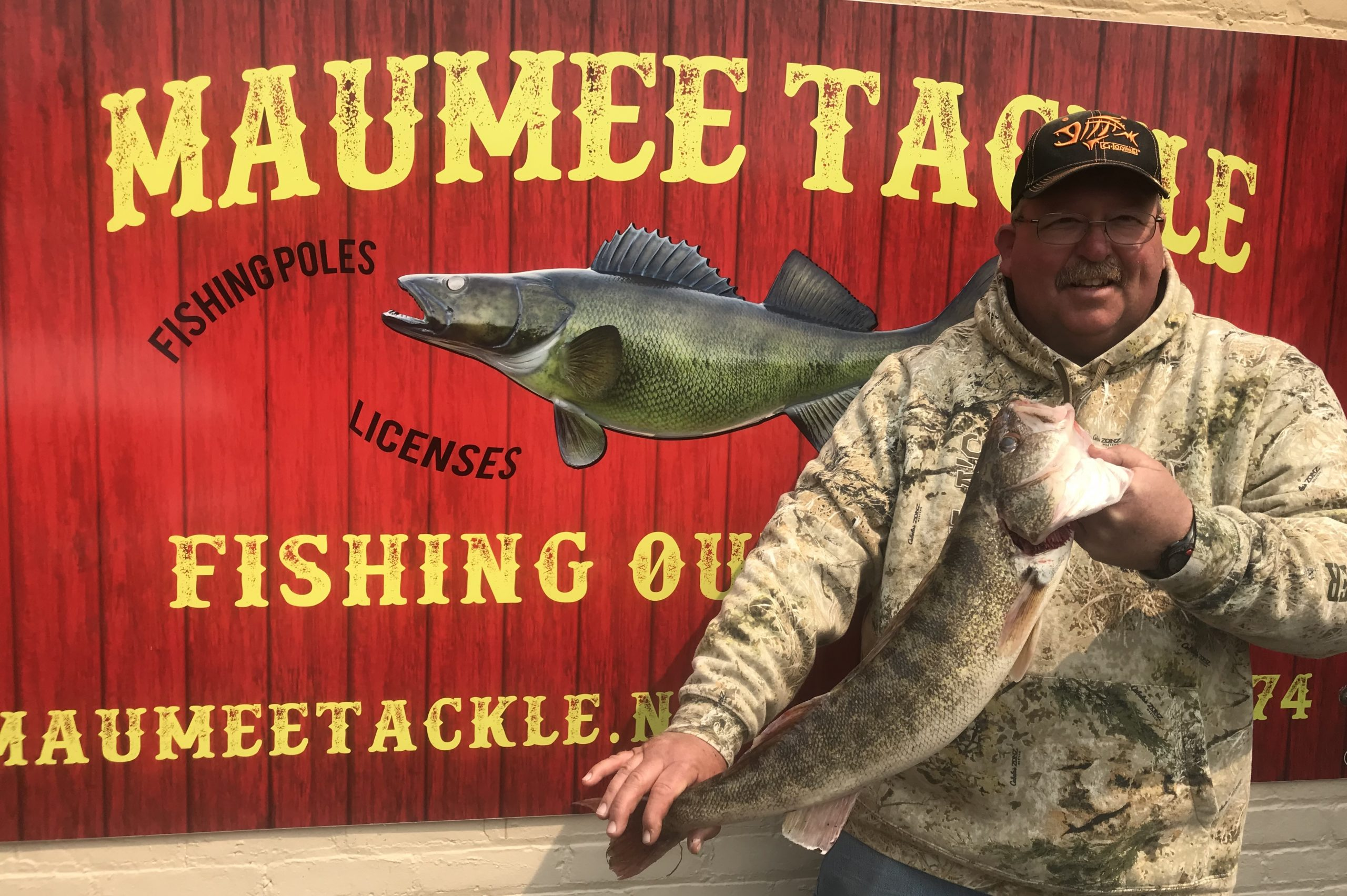 Maumee River Report- April 14 2018- The Bite is ON