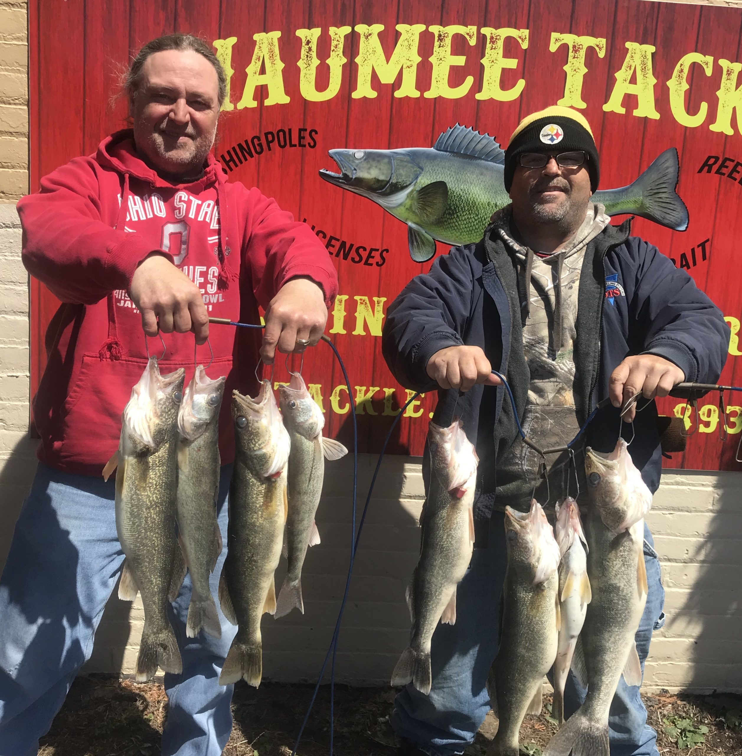 Maumee River report- 20 April 2018- FISH ON!