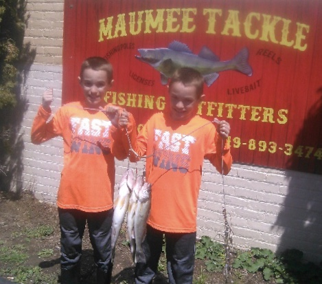 Maumee River Report- April 30 2018- Last Day of Spawning regulations