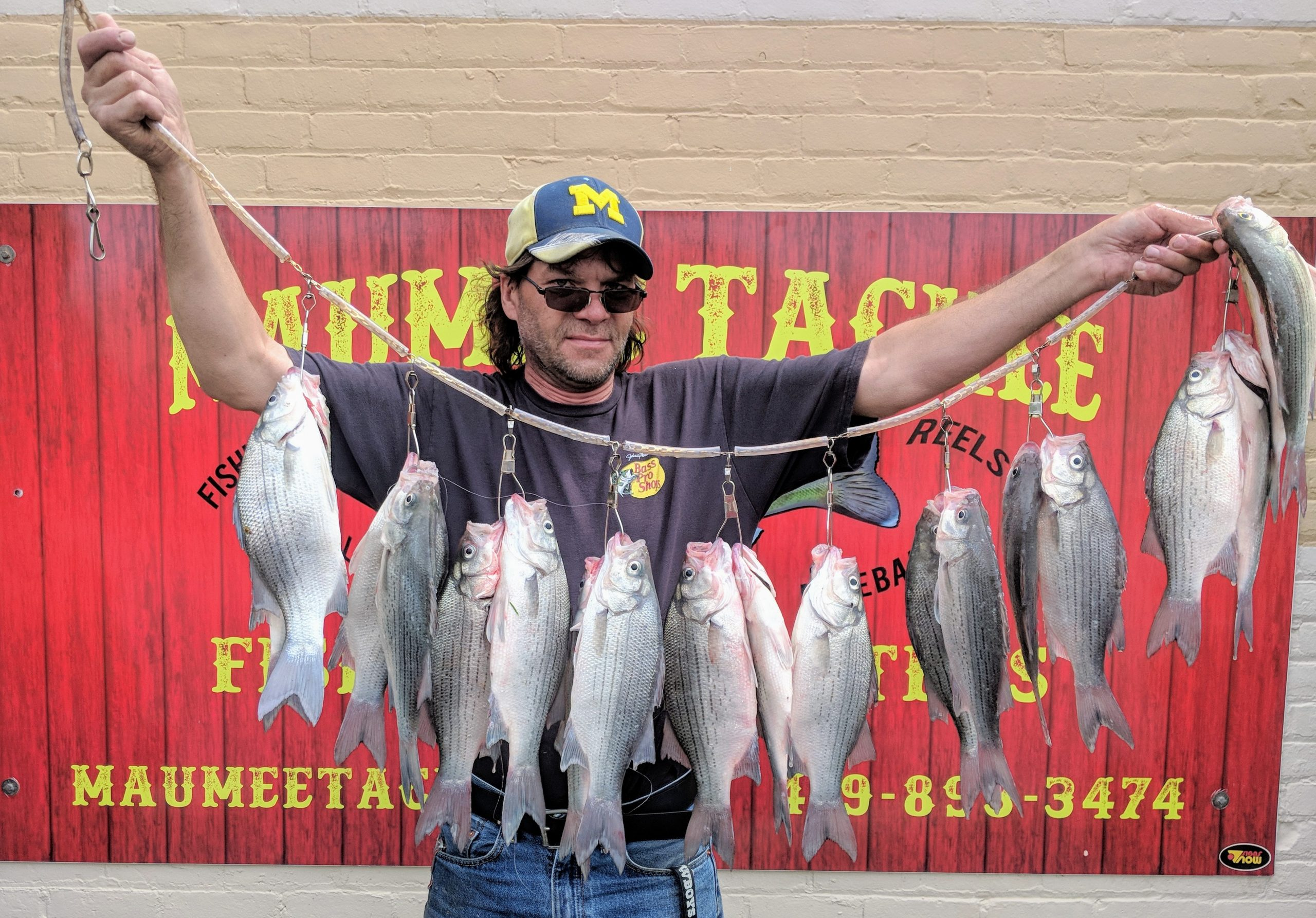 Maumee River Report- May 22, 2018- We have shiners ..for now
