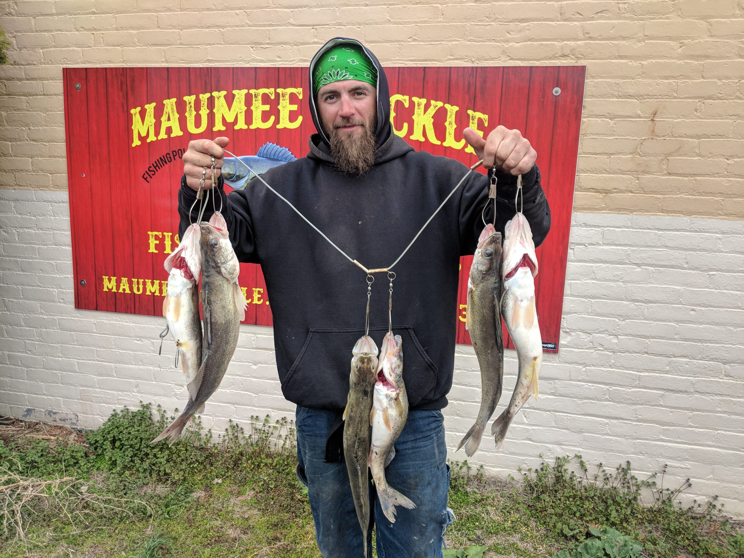 Maumee River report 26 April 2020