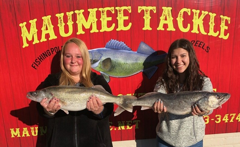 Maumee River report Friday the 13th -november 2020