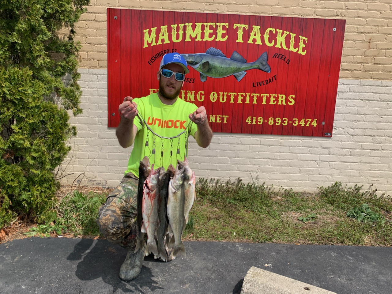 Maumee River report.20 April 20