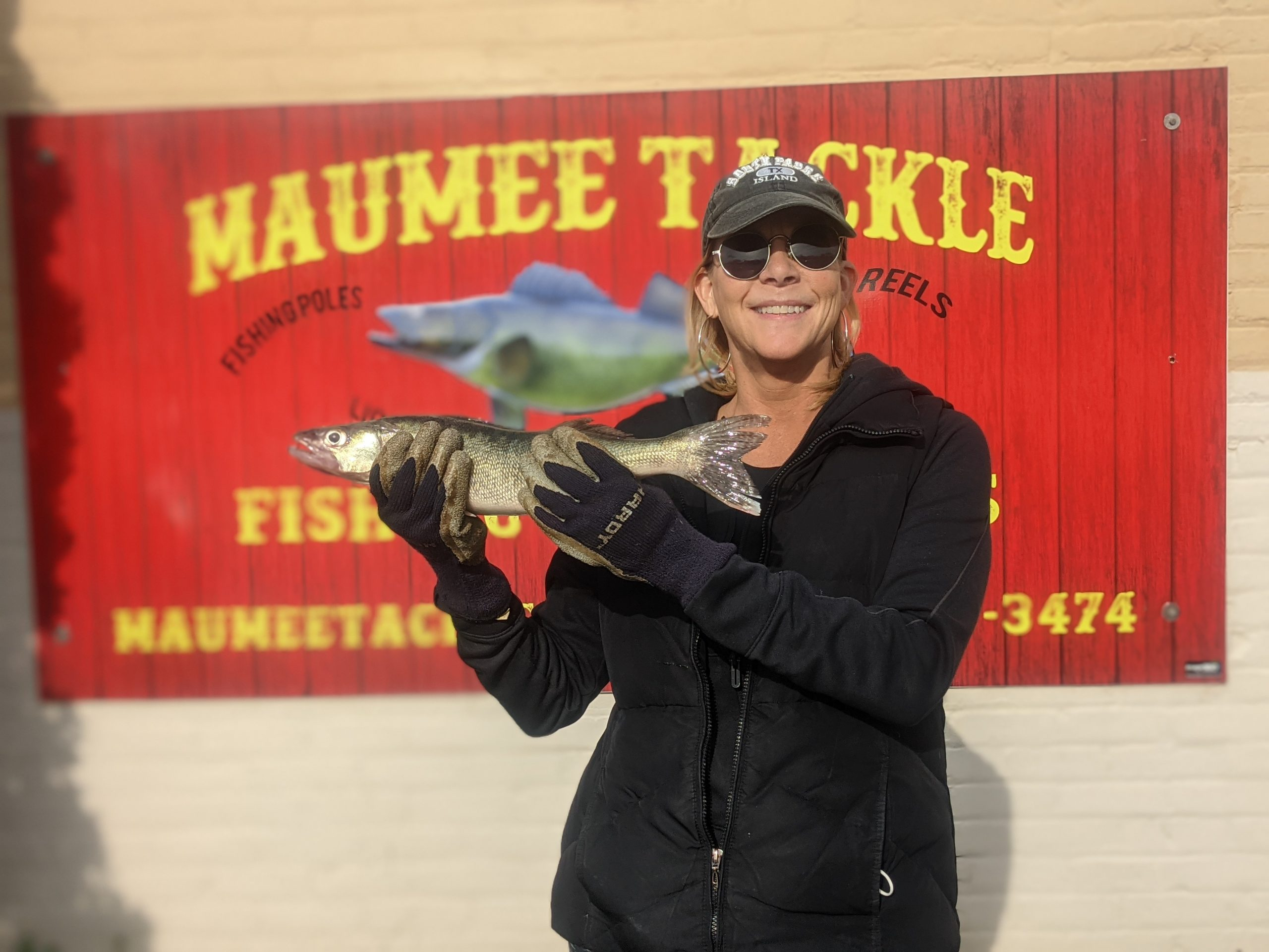 Maumee river Report- 19 april , 2021
