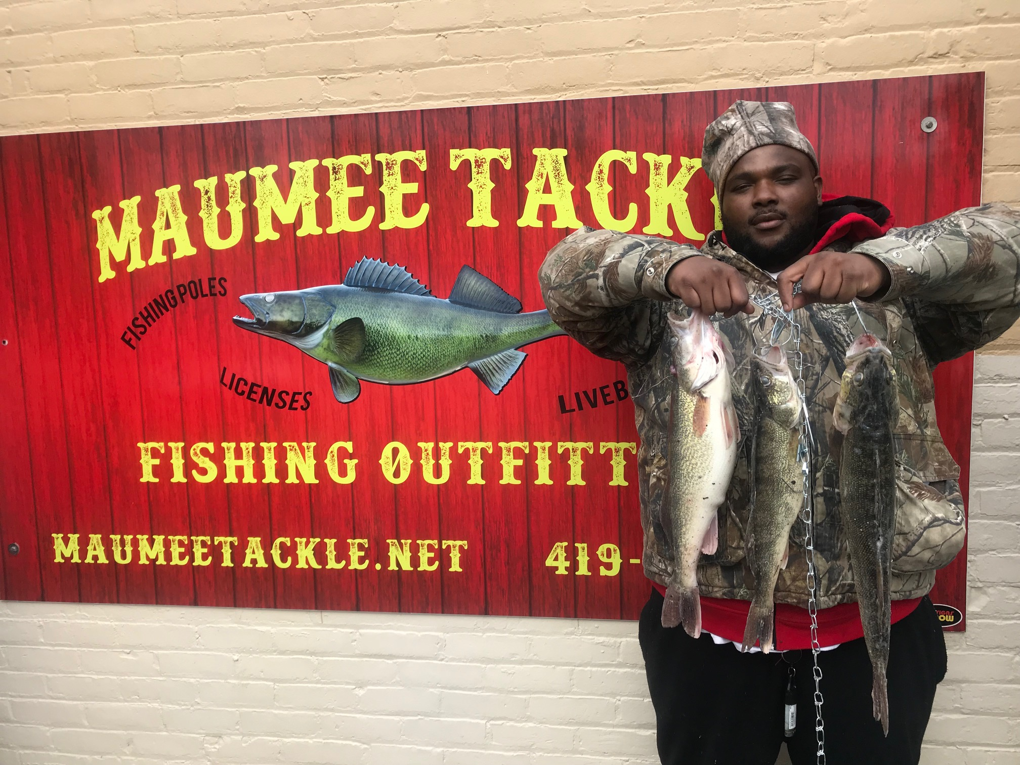 Maumee River Report March 1st, 2018- First Walleye of the Season Brought Into Shop Yesterday Afternoon! SPRING RULES IN EFFECT TODAY.