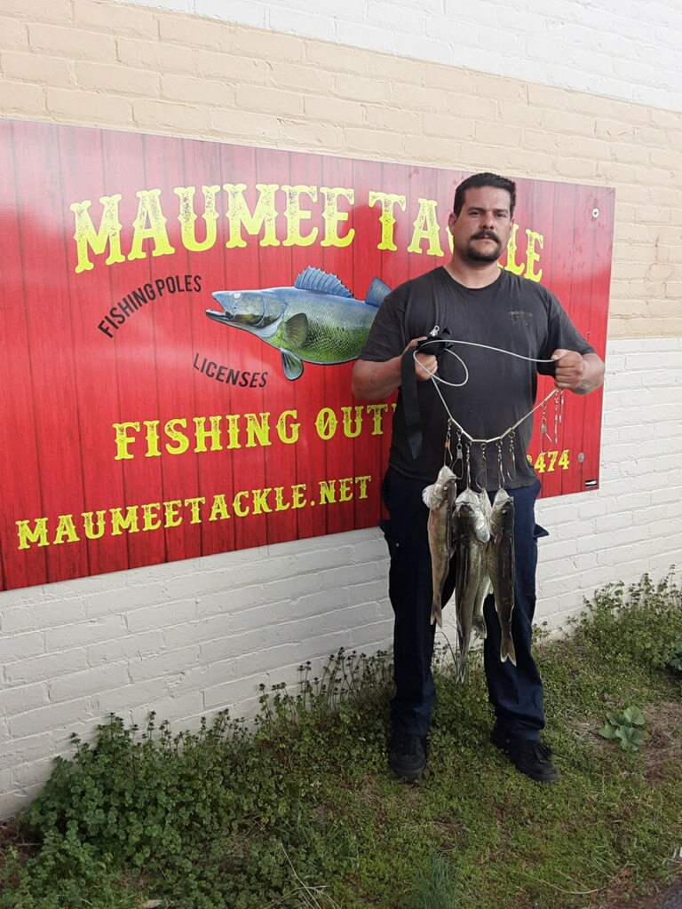 Maumee River report 29 April 20