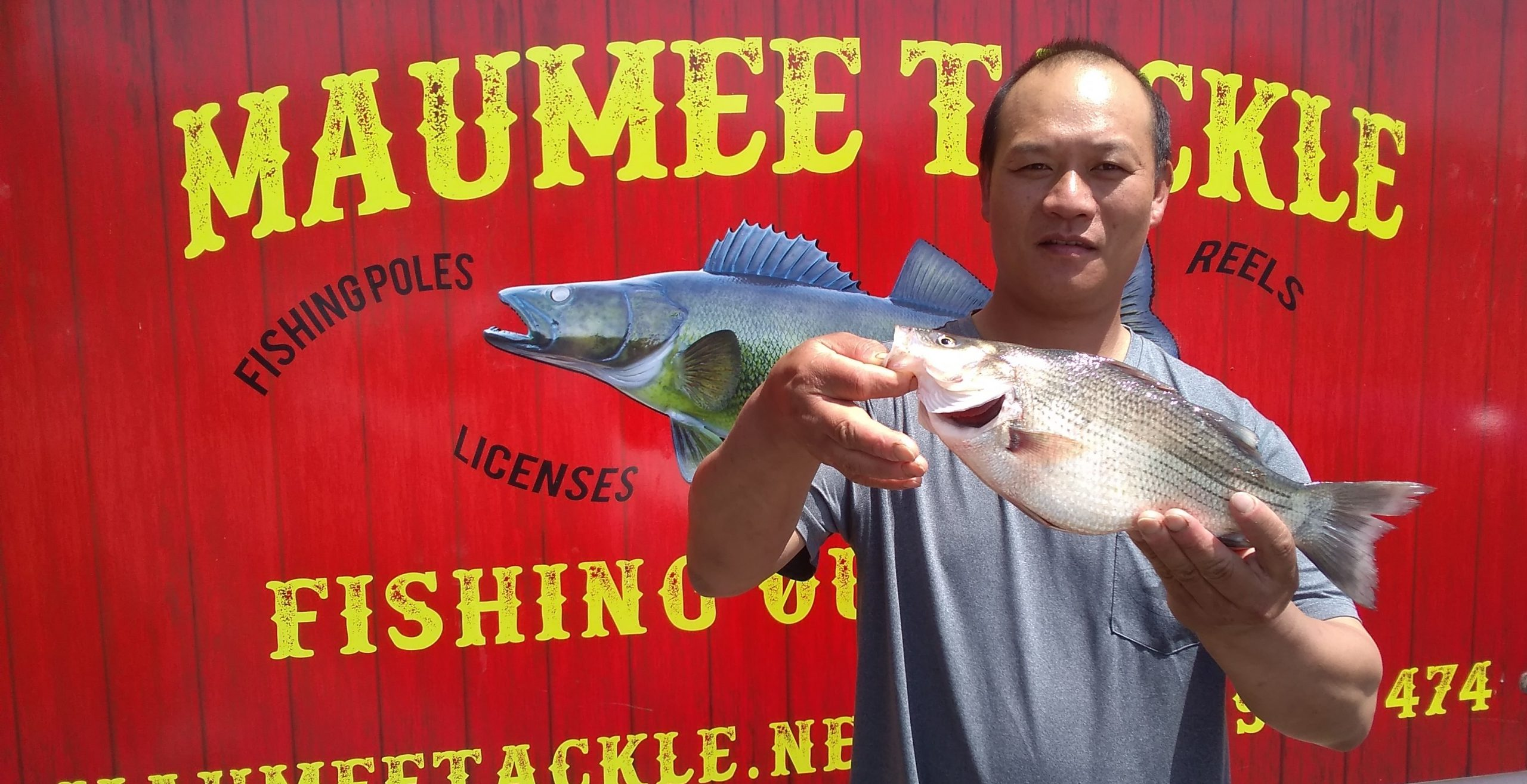 Maumee River report. 20 may 21